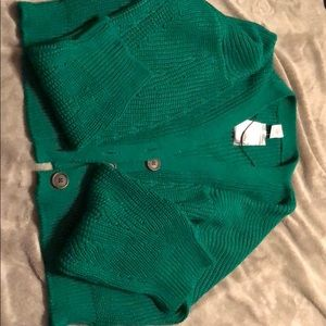 Green sweater from Urban Outfitters